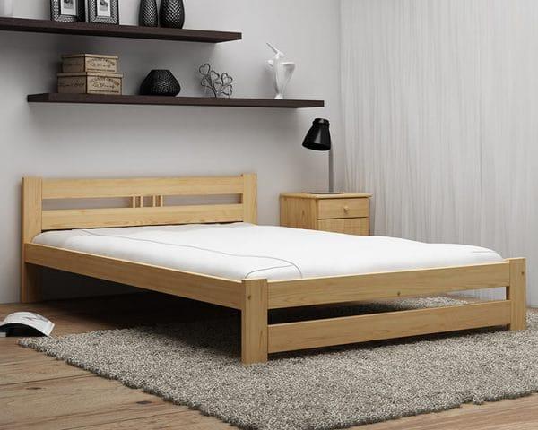 Giường gỗ keo 1m2