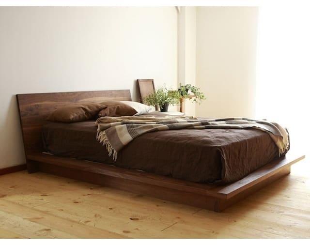 Giường gỗ kiểu Nhật với thiết kế tự do của thường hiện Hiromatsu