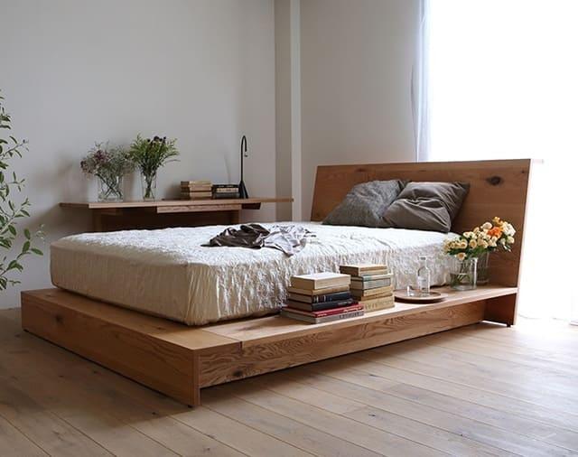 Giường kiểu Nhật theo thiết kế của Norio Mori
