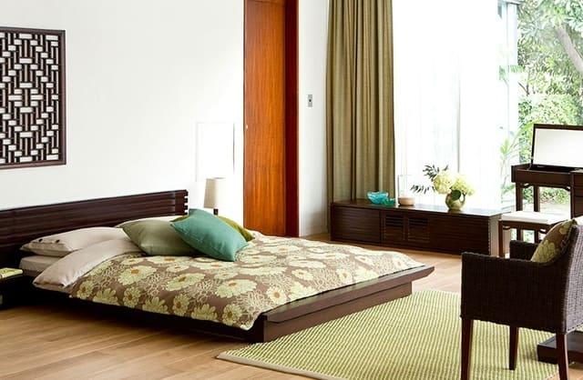 Giường kiểu nhật thấp Koto