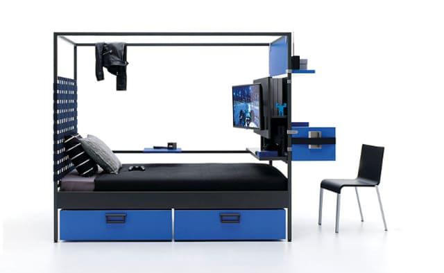 Giường ngủ tiết kiệm không gian kết hợp