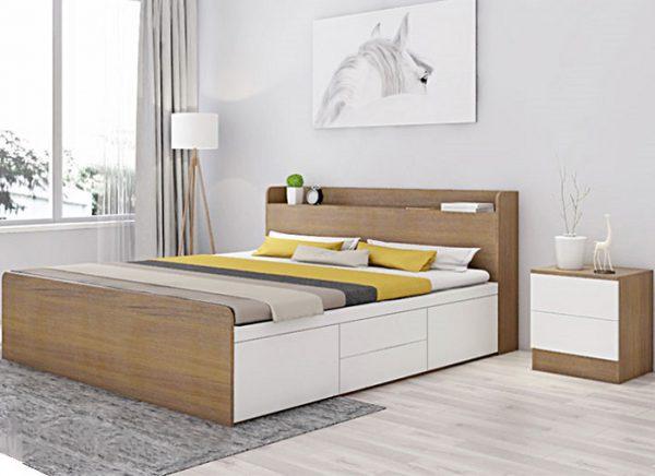 Giường gỗ 1m2