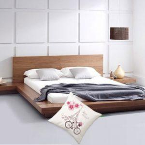Giường gỗ kiểu Nhật 1m2