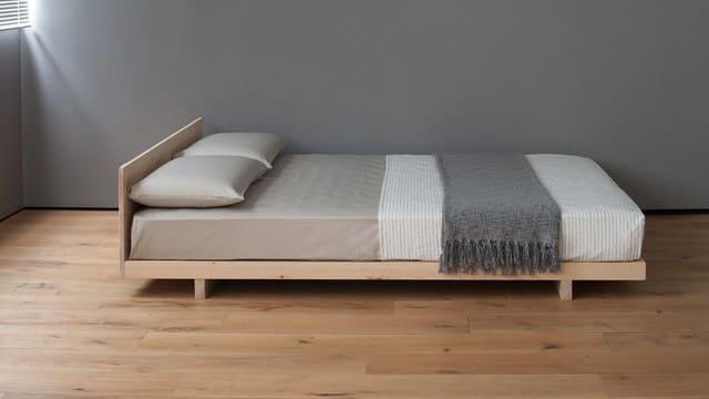 Giường gỗ tự nhiên 1m2