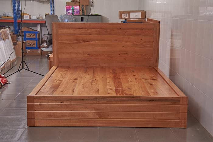 giường hộp gỗ giá tỵ M8