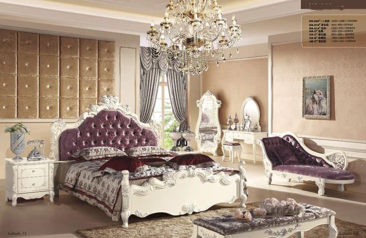 Bộ tủ giường hoàng gia