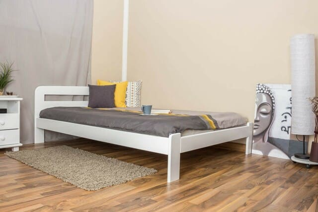 giường gỗ 1m