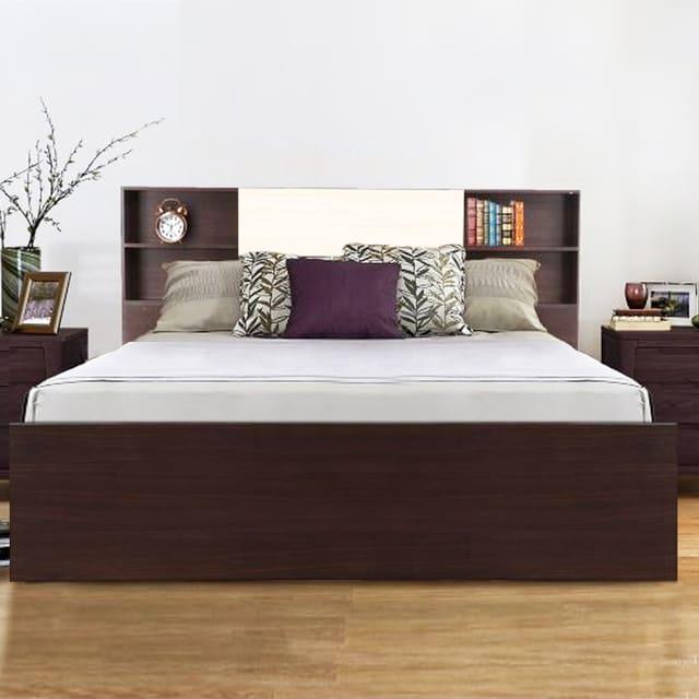 Giường đôi từ gỗ tự nhiên