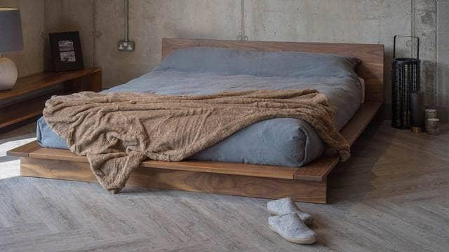 Giường gỗ kiểu Nhật
