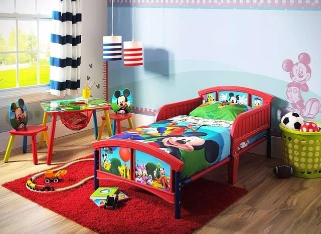 Giường nhiều màu sắc cho trẻ
