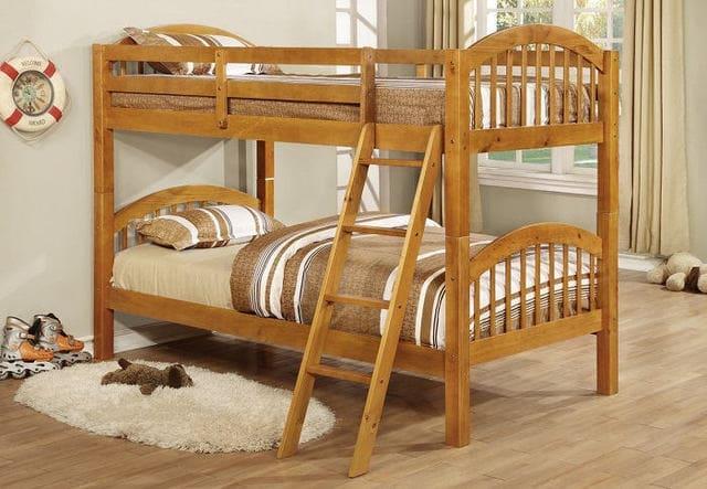 Mẫu giường gỗ tự nhiên