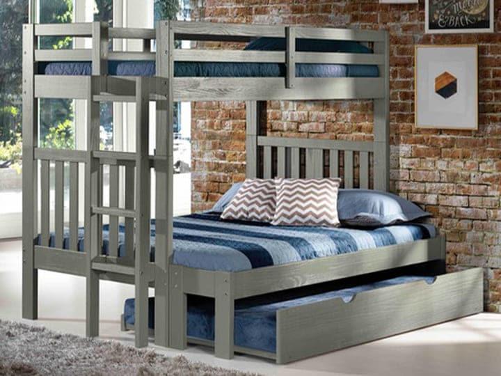 Giường gỗ thông cho người lớn