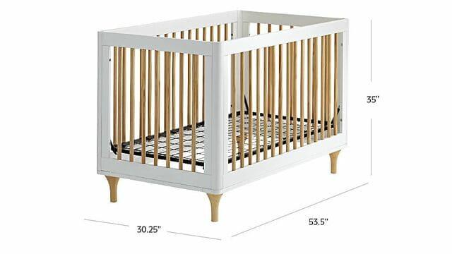 Kích thước giường ngủ em bé