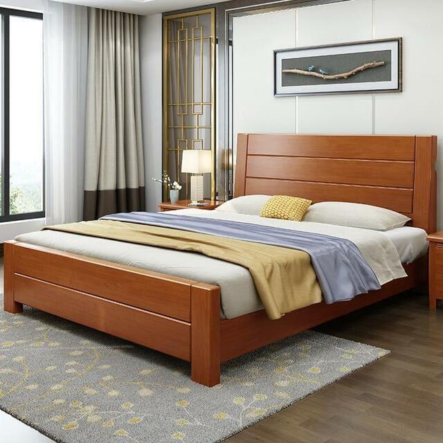 giường cưới chân thấp