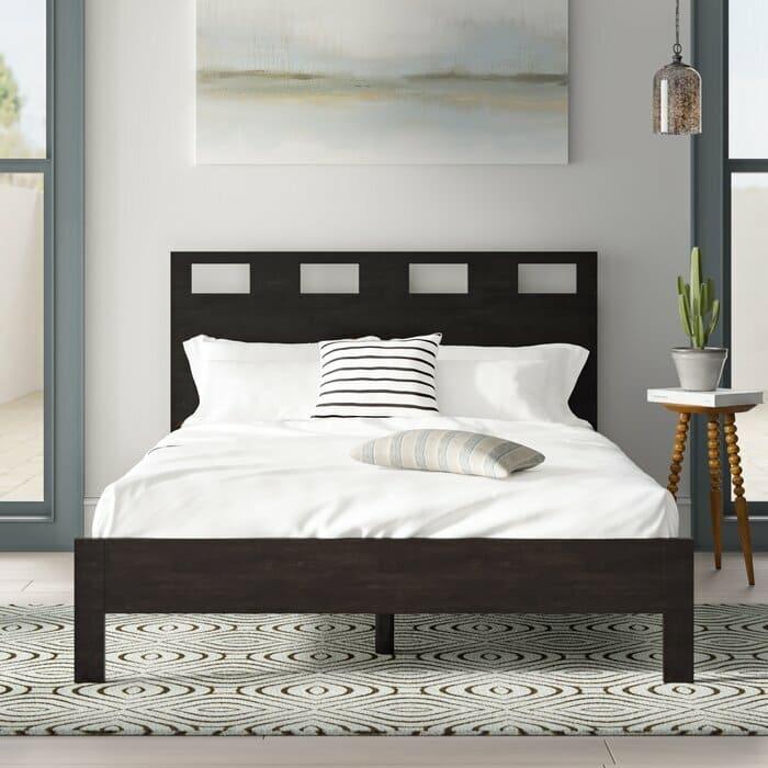 giường gỗ gụ hiện đại