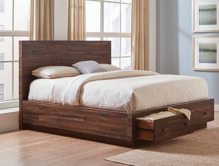 giường gỗ gụ đẹp