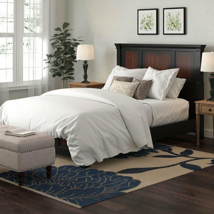 giường gỗ gụ