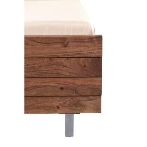 Đuôi giường gỗ keo K02