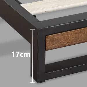 Chân kim loại của giường gỗ khung kim loại KK01