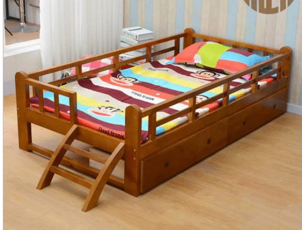 Giường ngủ 1m2 có ngăn kéo