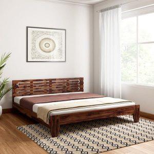 Giường 1m6 chân thấp