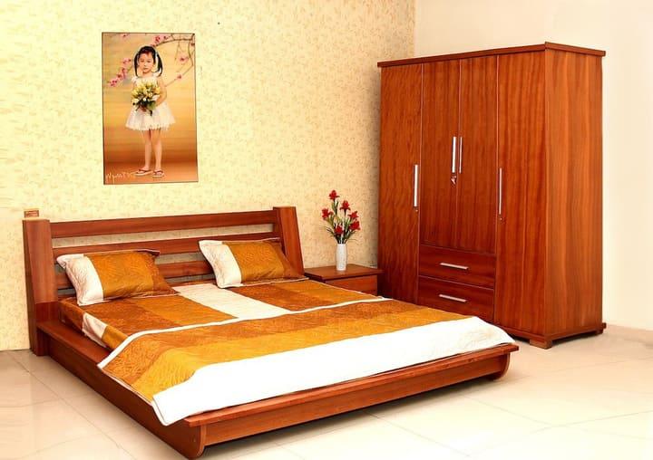 Giường ngủ tân cổ điển phong cách Việt Nam