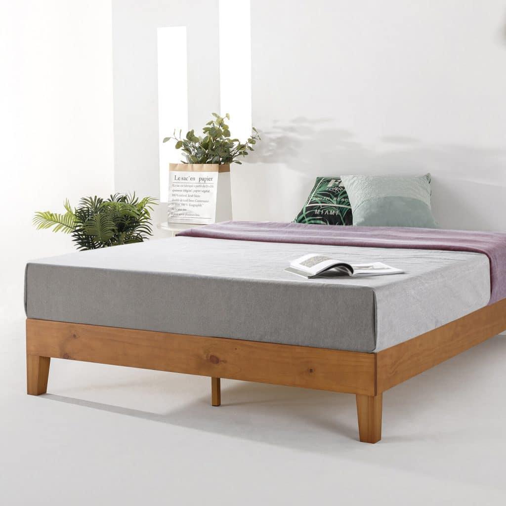 Sản phẩm giường gỗ thông T01