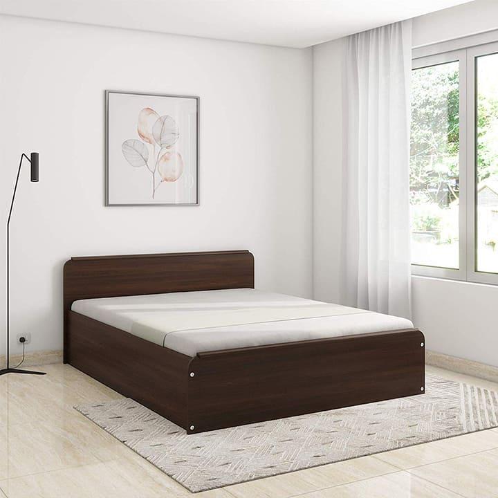 Giường hộp gỗ công nghiệp giá rẻ