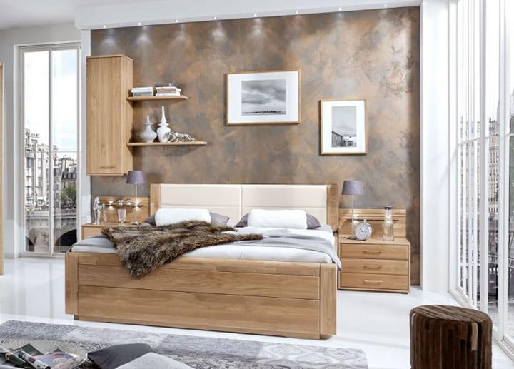 Giường hộp gỗ dổi