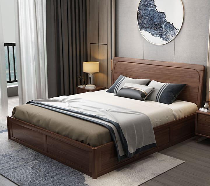 Giường gỗ lim