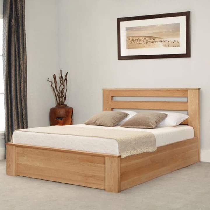 Giường hộp gỗ ván ép