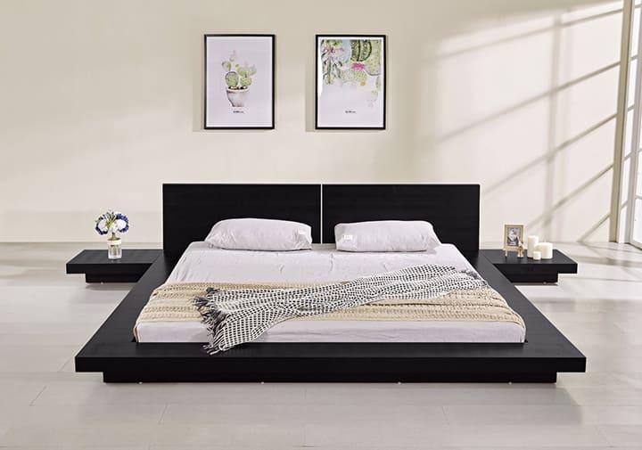 Giường gỗ ép kiểu Nhật