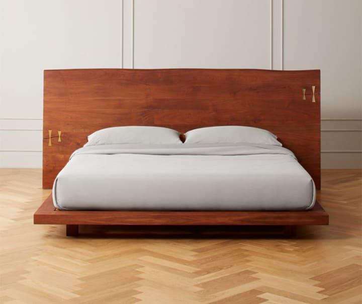 Giường kiểu Nhật gỗ đinh hương