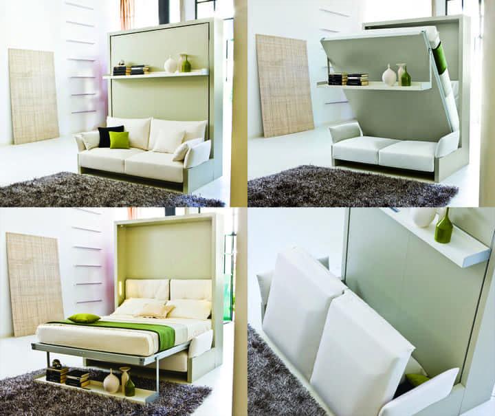 Giường ngủ đa năng 7 kiểu kết hợp với sofa