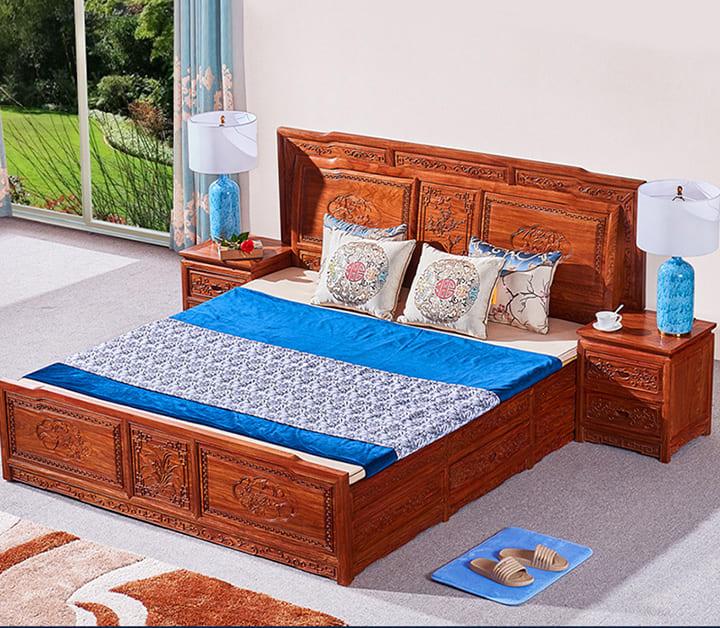 Giường gỗ đinh hương giá bao nhiêu