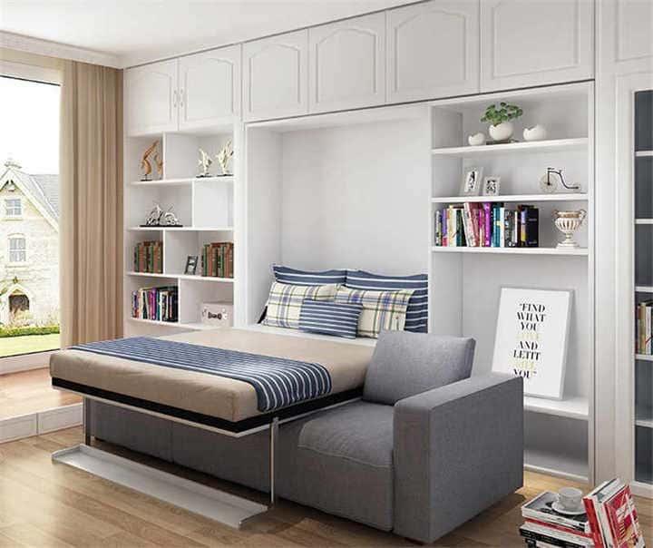 Giường ngủ đa năng kết hợp với sofa