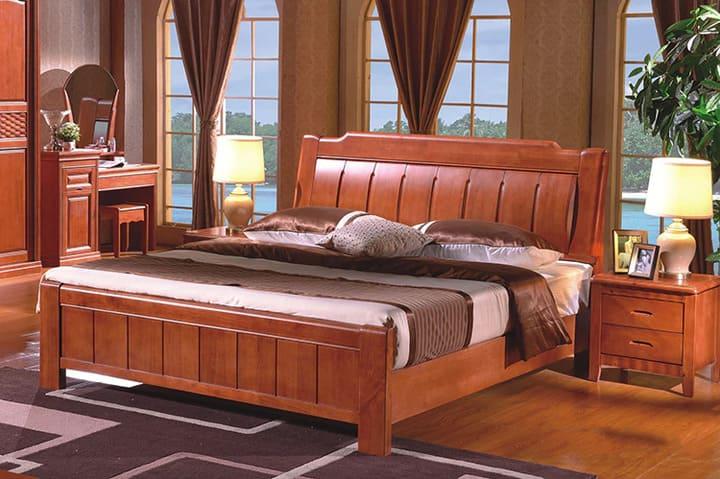 Giường ngủ tân cổ điển phong cách Phương Đông