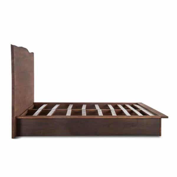 Mặt nghiên của sản phẩm giường ngủ kiểu Nhật KN01