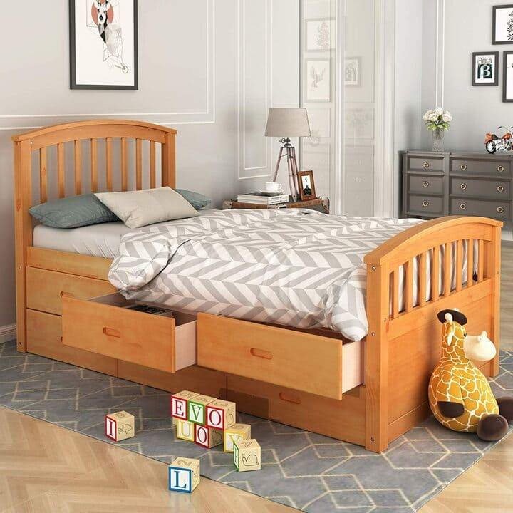 Giường ngủ có ngăn kéo