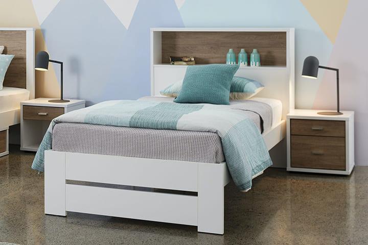 Mẫu giường gỗ công nghiệp dưới 1 triệu