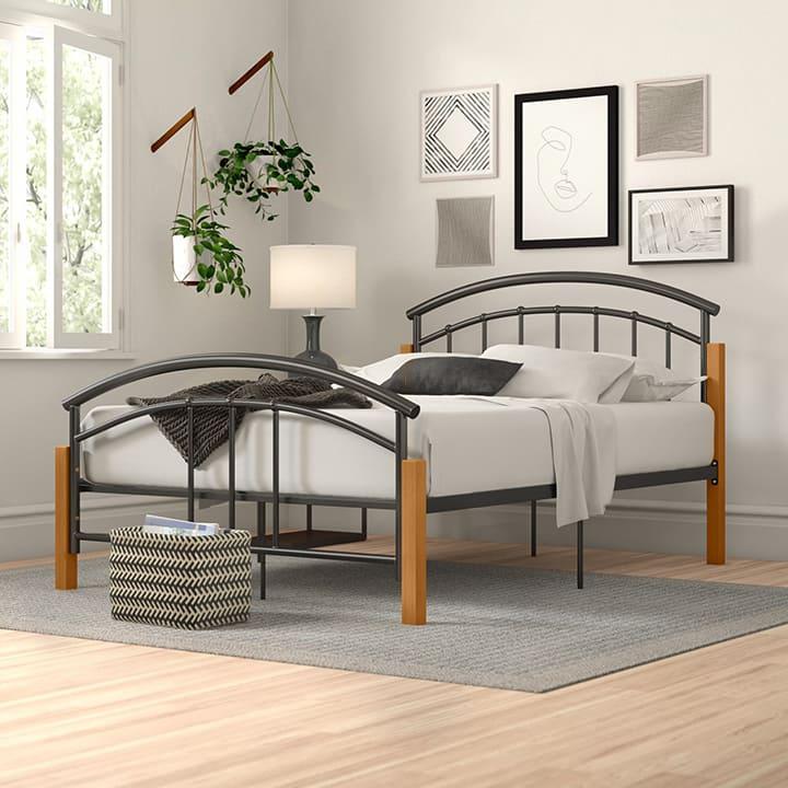 Mẫu giường kim loại dưới 1 triệu