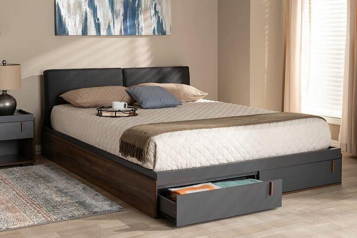 Giường ngủ có ngăn kéo đẹp