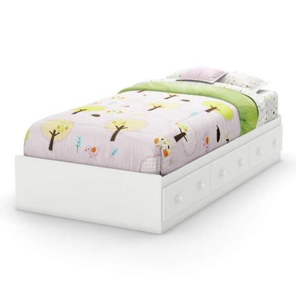 Giường có ngăn kéo gỗ keo