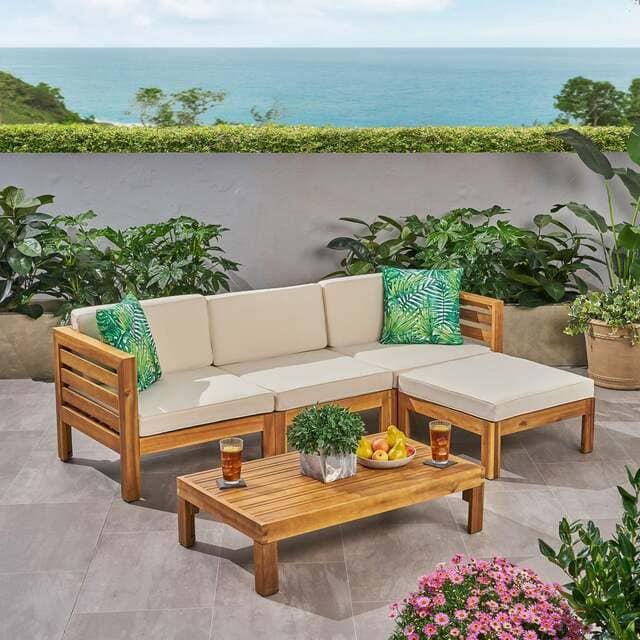 sofa gỗ keo