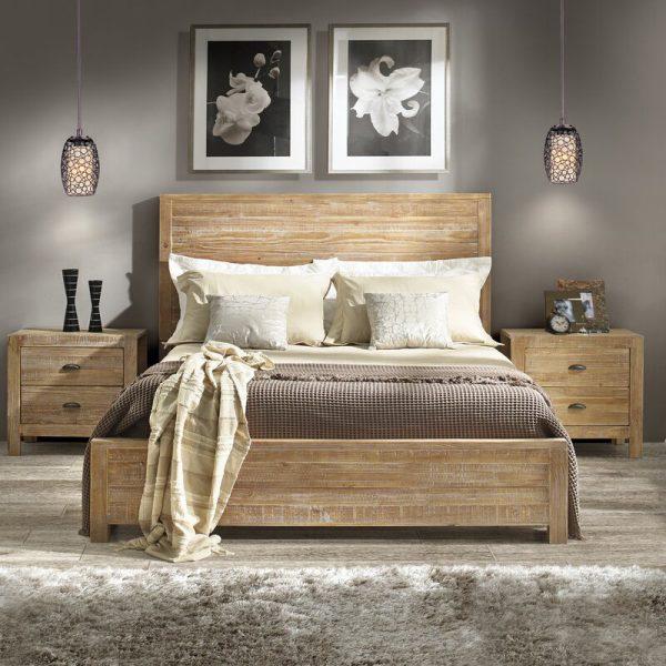 giường tân cổ điển 1m6x2m sơn trắng KT05