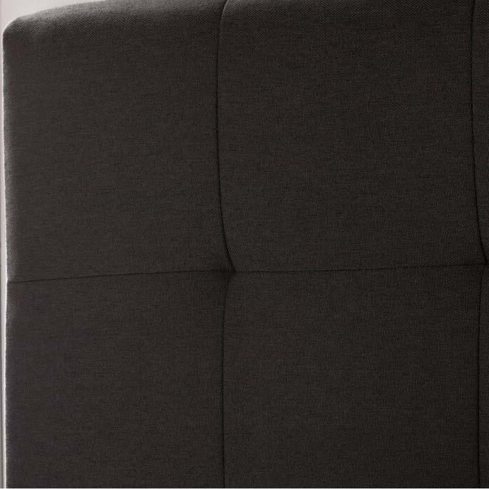 Vải polyester của giường ngủ bọc da BN02
