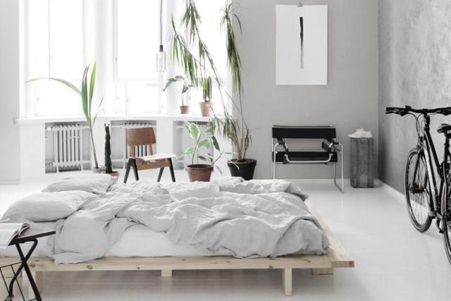 Các kiểu giường ngủ thấp