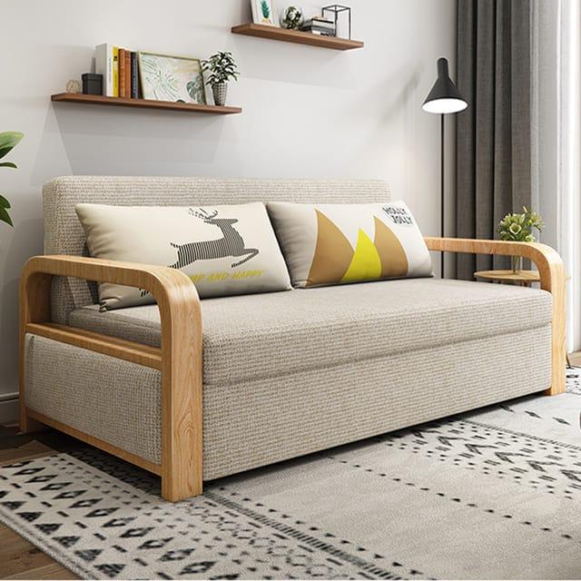 Chất liệu của giường gấp gỗ