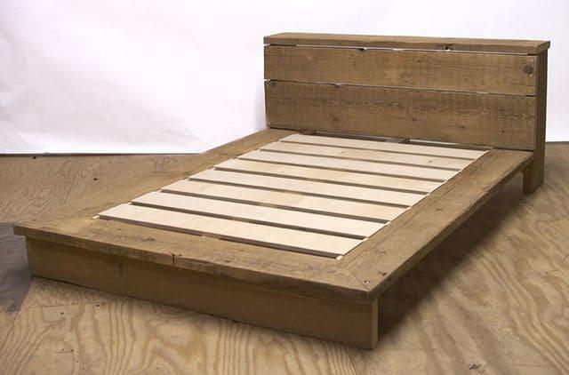 Dát giường gỗ tự nhiên thường dùng cho trẻ nhỏ