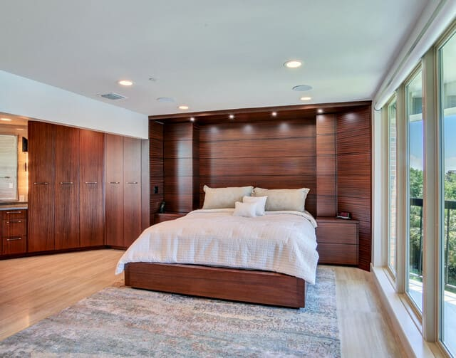 Giá giường ngủ gỗ xoan đào